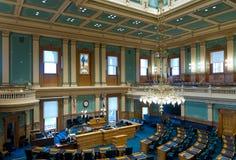 Kammare för hus för Colorado tillståndsKapitolium Arkivbild