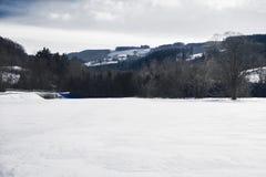 Kammerhof im Winter Lizenzfreie Stockbilder