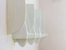 Kammertopf in der Toilette Stockbild