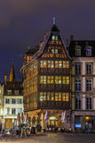 Kammerzell House, Strasbourg royalty free stock photography