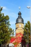 Kammgarn-stoff â historische Stadt im Bayern, Deutschland Stockfoto