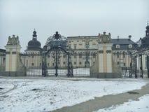 Kammgarn-stoff Schloss Lizenzfreie Stockfotos