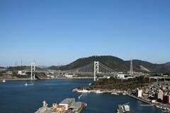 Kammon海峡桥梁 库存图片