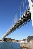 Kammon strait bridge Stock Image