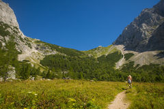 Kamnik saddle, Kamnik Savinja alps, Slovenia Royalty Free Stock Photo