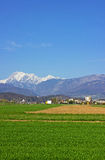 Kamnik view from distance 2 Royalty Free Stock Photos