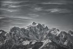 Kamnisko Savinjske alps Obrazy Stock