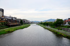 Kamo flod Arkivbild