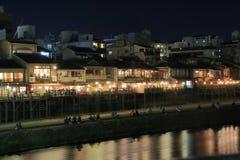 Kamo river Kyoto Japan Stock Photo