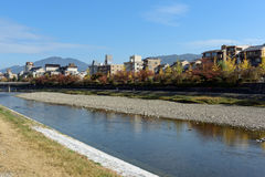Kamo River, Kyoto - Japan Stock Photography