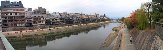 Kamogawa River, Kyoto. Japan - Photo taken on November 6th, 2015 Stock Image