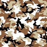 kamouflageöken stock illustrationer