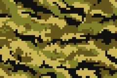 kamouflage Stock Illustrationer