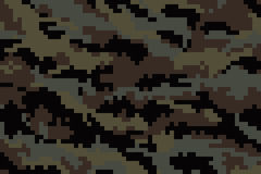 kamouflage Vektor Illustrationer