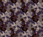 Kamouflage med bubblor Arkivfoton