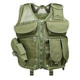 Kamouflage militär kroppharnesk, skyltdocka royaltyfri fotografi