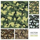 kamouflage också vektor för coreldrawillustration Arkivbilder