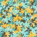 Kamouflage seamless-23 stock illustrationer