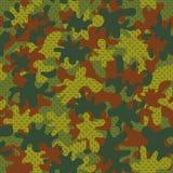Kamouflage seamless-04 vektor illustrationer