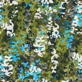 Kamouflage seamless-11 vektor illustrationer