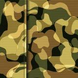 Kamouflagekakitextur vektor illustrationer