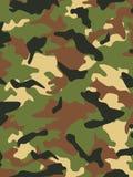 kamouflagemilitär Arkivfoto