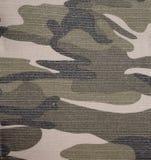 kamouflagemilitärtextur Arkivfoto