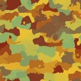 kamouflagemodell Arkivbilder