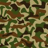 kamouflagemodell Royaltyfri Bild