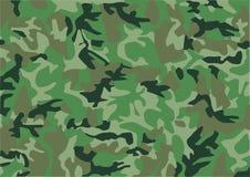 kamouflagemodell Arkivbild