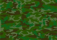 kamouflagemodell vektor illustrationer