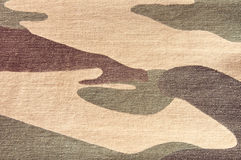 Kamouflagemodell Arkivfoto