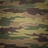 Kamouflagemodell Royaltyfria Bilder