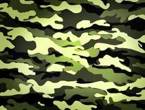 Kamouflagemodell Royaltyfri Foto