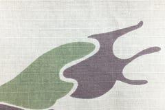Kamouflagemodell för textur och bakgrund Royaltyfri Fotografi