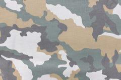 Kamouflagemodell och bakgrund Royaltyfria Bilder