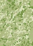 kamouflagemodellvektor Arkivbild