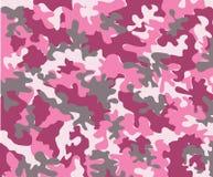 kamouflagepink Arkivbild