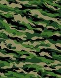 kamouflagestrid vektor illustrationer