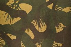 Kamouflagetygbakgrund Arkivfoton