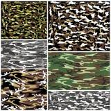 Kamouflageuppsättning Arkivbild