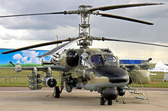 Kamov-52 Heliicopter (1) royalty free stock photos