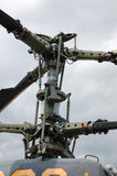 Kamov helicopter (fragment). 'Kamov' helicopter rotor head (close-up royalty free stock photos