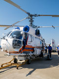 Kamov Ka-32 firefighting  helicopter Royalty Free Stock Image