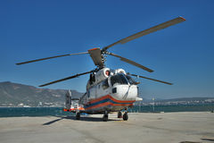 Kamov Ka-32PS rescue helicopter Stock Photography