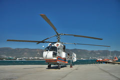 Kamov Ka-32PS rescue helicopter Stock Image