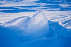 Kamp Barneo bij de van de de sneeuw duidelijke sneeuw van de het noordenpool van het de kubuspatroon de sneeuwvlokkenlijnen Stock Afbeelding