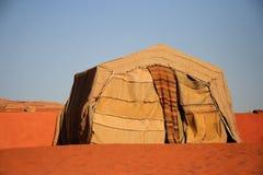 Kamp in de Rum van de Wadi stock foto's