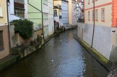 Kampa海岛在布拉格 库存图片
