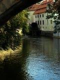 kampa νησιών Charles γεφυρών πλησίον Στοκ εικόνες με δικαίωμα ελεύθερης χρήσης